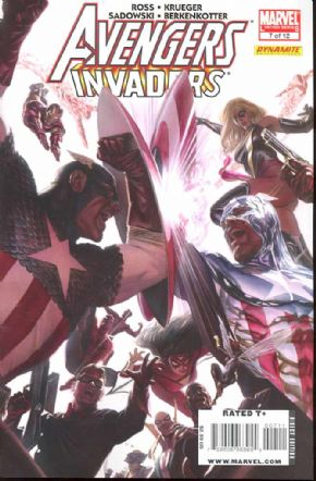 Avengers Invaders #7 (2008) Alex Ross Marvel comic book